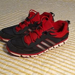 Adidas Clima cools in red and black
